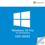 Microsoft Windows 10 Pro for Workstations, 64-bit, UK, DVD HZV-00055