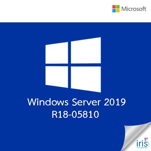 Microsoft Windows Server 2019 R18-05810
