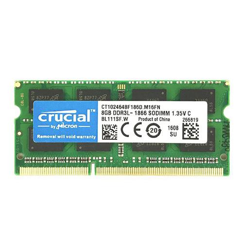 8GB DDR3L-1866 204 pin SO-DIMM RAM