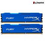 8GB (4GBx2) DDR3/1600 RAM PC KINGSTON HyperX FURY BLUE (HX316C10FK2/8)