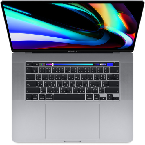 16-inch MacBook Pro with Touch Bar: 2.6GHz 6-core 9th-generation IntelCorei7 processor, 512GB - Space Grey