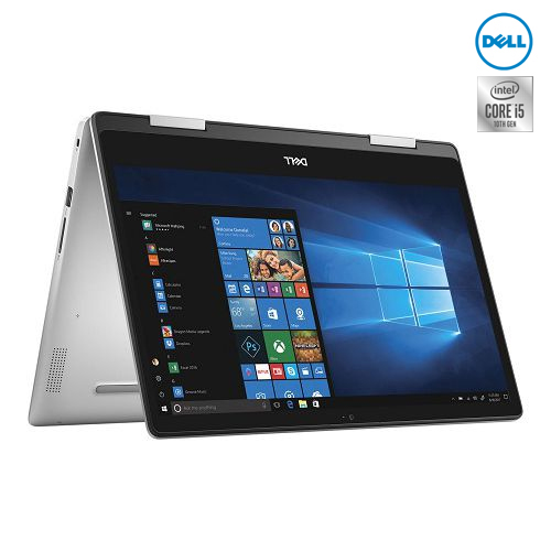 Notebook Dell Inspiron 2in1 5491 (W566055024THW10) Silver