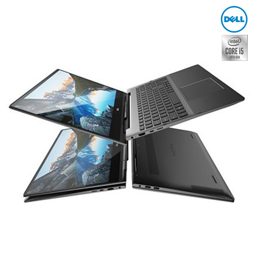 Notebook Dell Inspiron 2in1 7391 (W567053008THW10) Black