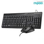 (2in1) USB RAPOO (KB-X1710-BK) Black