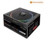 THERMALTAKE SMART PRO RGB 650W : PS-SPR-0650FPCBEU-R (80+ Bronze)