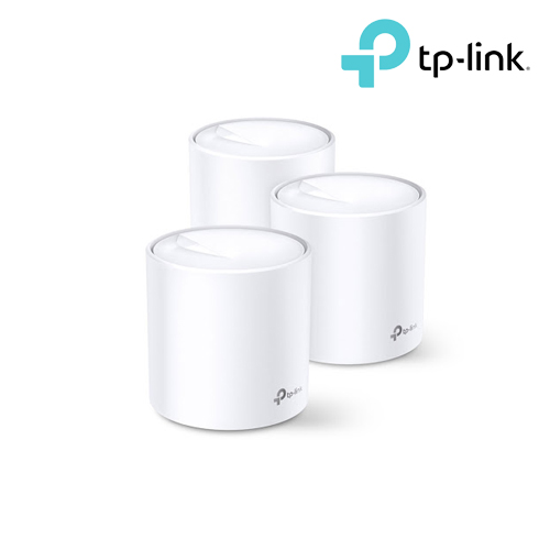 TP-LinkDeco X60AX3000 Smart Home Mesh Wi-Fi System (3 Pack)